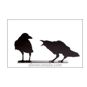 CROW COUPLE BLACK