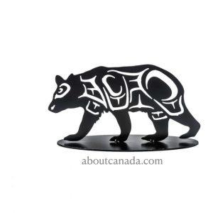 First Nations Bear Wall Black