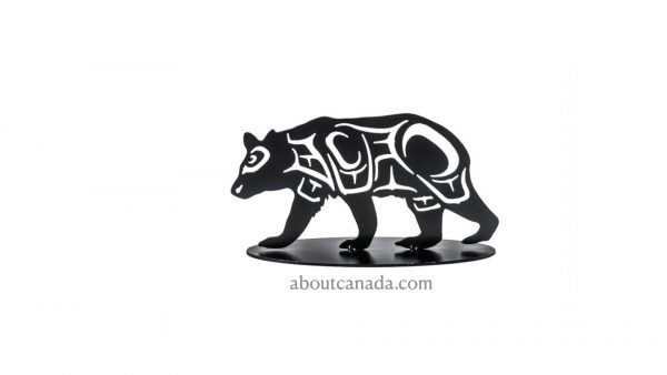 First Nations Bear Wall Black