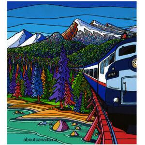 Leaving Banff